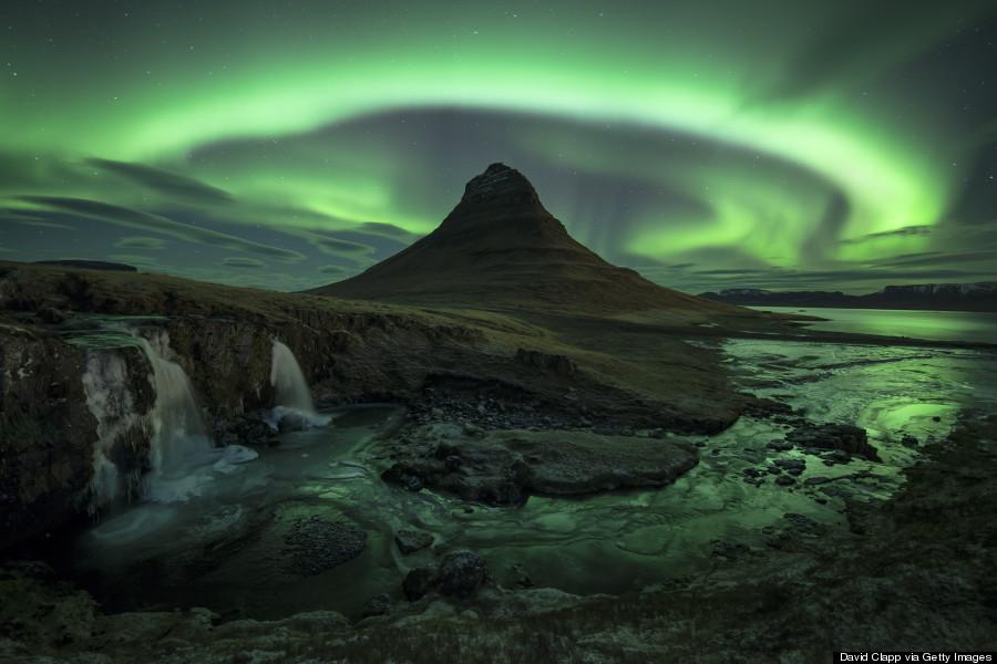Aurora over Kirkjufell, Iceland