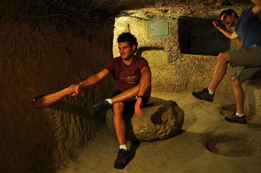 Strange things happen in caves