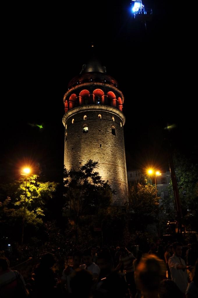 Galata by night