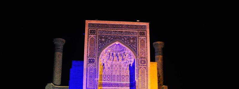 Samarkand monument