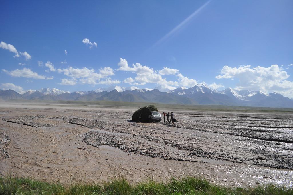 Kyrgysztan Border